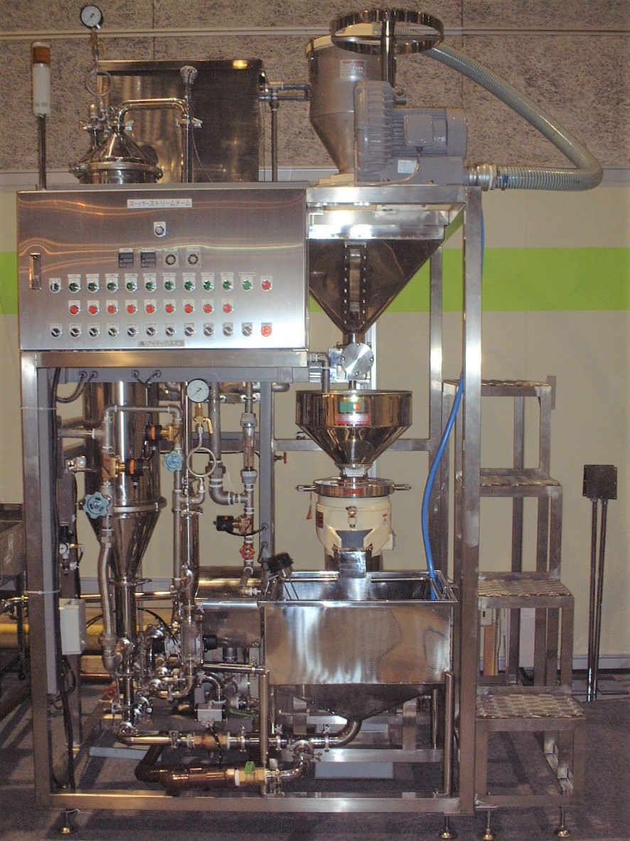 Automatic  Single Barrel Batch Type Cooking Pot image.