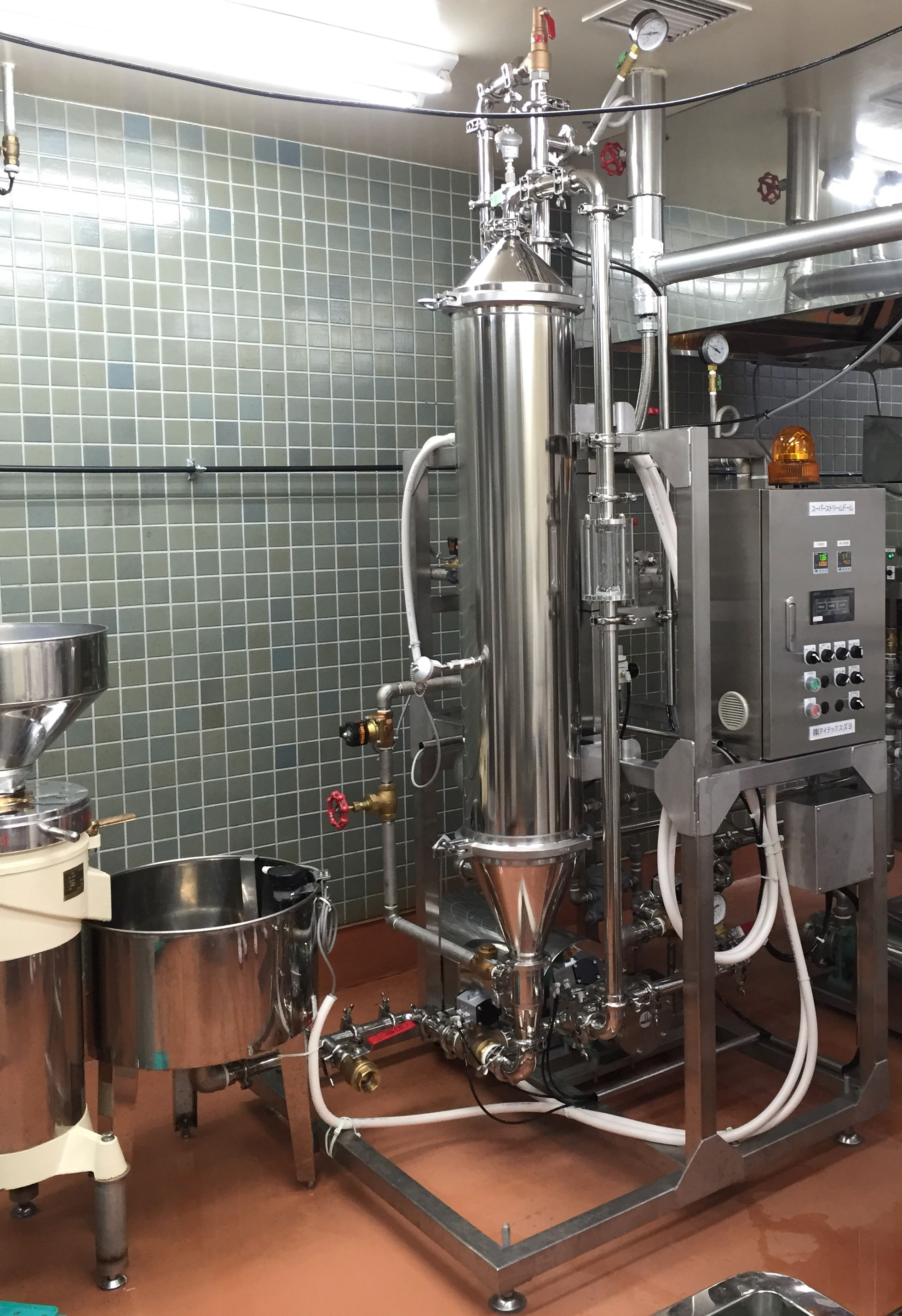Semi-automatic Single Barrel Batch Type Cooking Pot image.