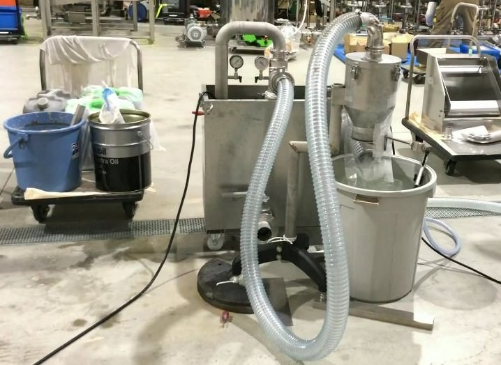 UV真空吸引システムデモ機 イメージ